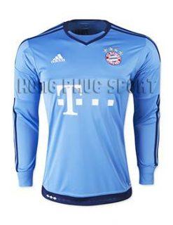 Mẫu áo thủ môn bayern munich 2015-2016 màu xanh dương