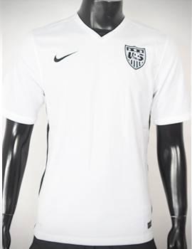 Mẫu quần áo USA (Mỹ) 2015-2016 sân nhà màu trắng