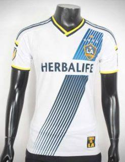 Mẫu áo đá banh La Galaxy 2015-2016 sân nhà màu trắng