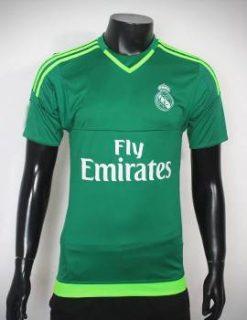 Mẫu áo thủ môn Real 2015-2016 xanh lá cây