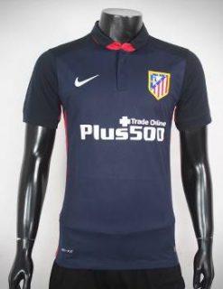 Mẫu áo atletico madrid 2015-2016 sân khách màu xanh sẫm