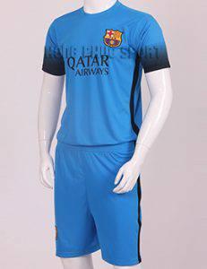 Mẫu áo barcelona 2015-2016 mẫu thứ 3 thi đấu C1 màu xanh dương