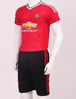 Mẫu áo đá banh Manchester United Adidas 2015-2016 sân nhà