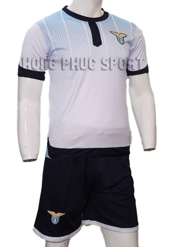Bộ quần áo Lazio 2015-2016 sân khách mẫu thứ 3 màu trắng