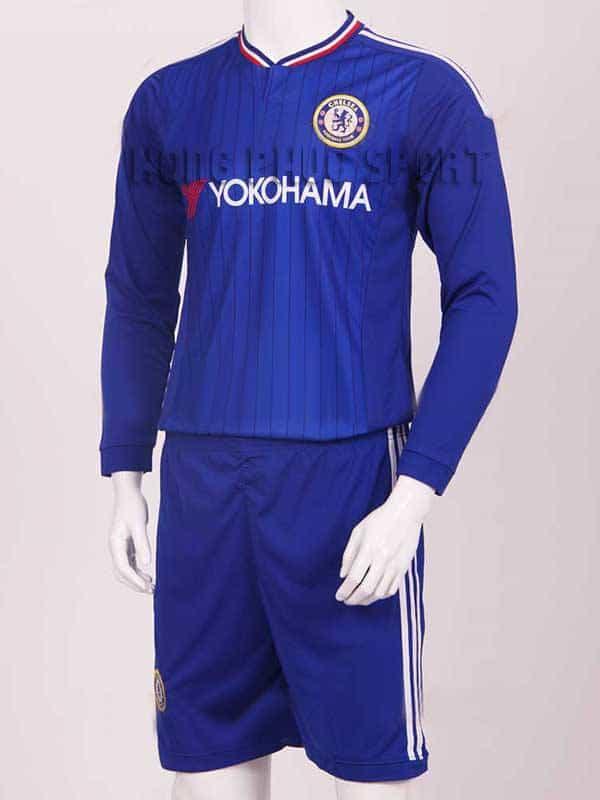 Đồ đá banh Chelsea Yokohama 2015-2016 tay dài sân nhà