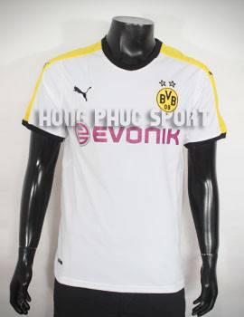Bộ quần áo đá banh Dortmund 2015-2016 sân khách trắng phối vàng đen