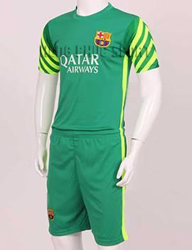 Mẫu quần áo đá banh thủ môn Barca 2015-2016 xanh lá cây