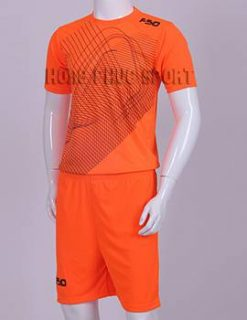 Đồ đá banh áo F50 màu cam không logo 2015-2016
