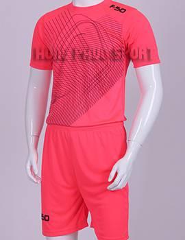 Đồ đá banh áo F50 màu hồng không logo 2015-2016