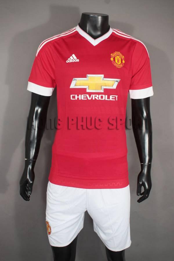 Đồ đá banh MU Adidas Super fake 2015-2016 sân nhà
