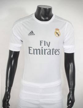 Mẫu quần áo Real 2015-2016 sân nhà hàng Super Fake Thái Lan