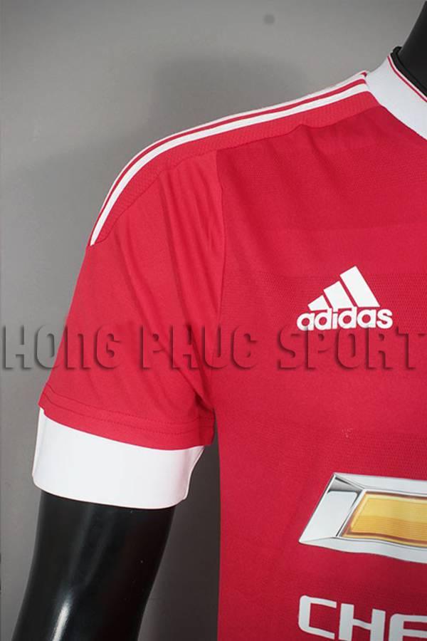 Vai áo MU Adidas Super fake 2015-2016 sân nhà