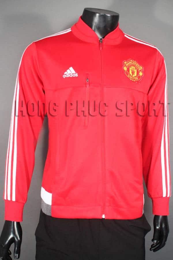 Áo khoác MU đỏ 2015-2016 hàng super fake Thái lan
