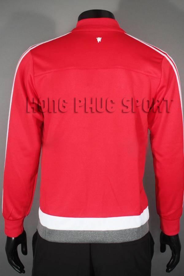 Mẫu áo khoác MU đỏ 2015-2016 Super Fake Thái lan