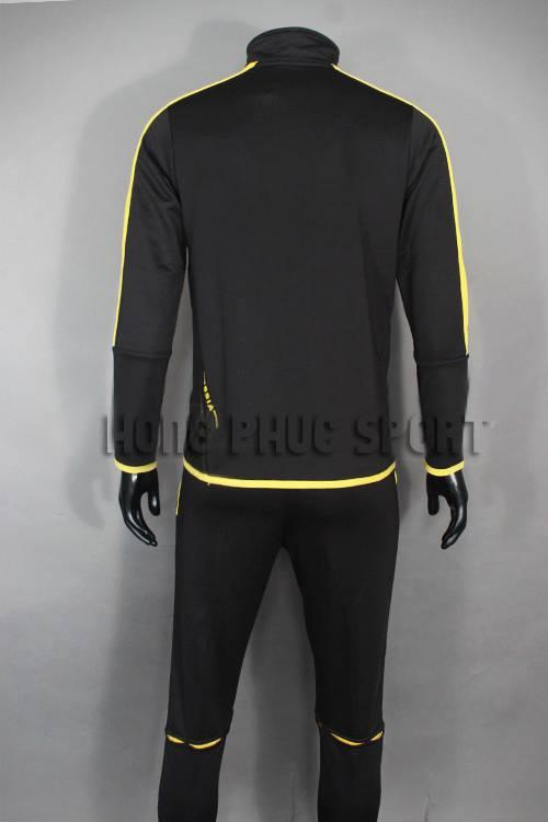 Áo khoác Training Dortmund đen phối vàng 2015-2016