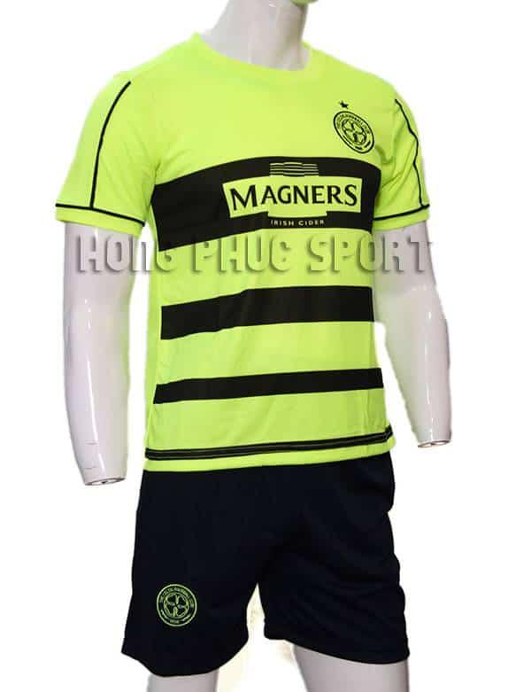 Đồ đá banh Celtic xanh chuối 2015-2016 sân khách mẫu thứ 3
