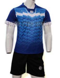 Đồ đá banh áo Kool xanh bích không logo 2015-2016