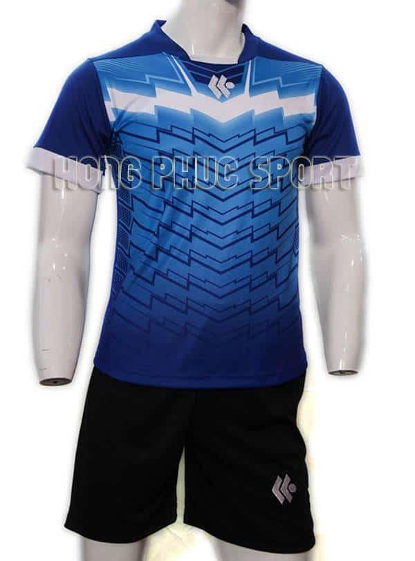 Mẫu áo đá banh áo Kool xanh bích không logo 2015-2016