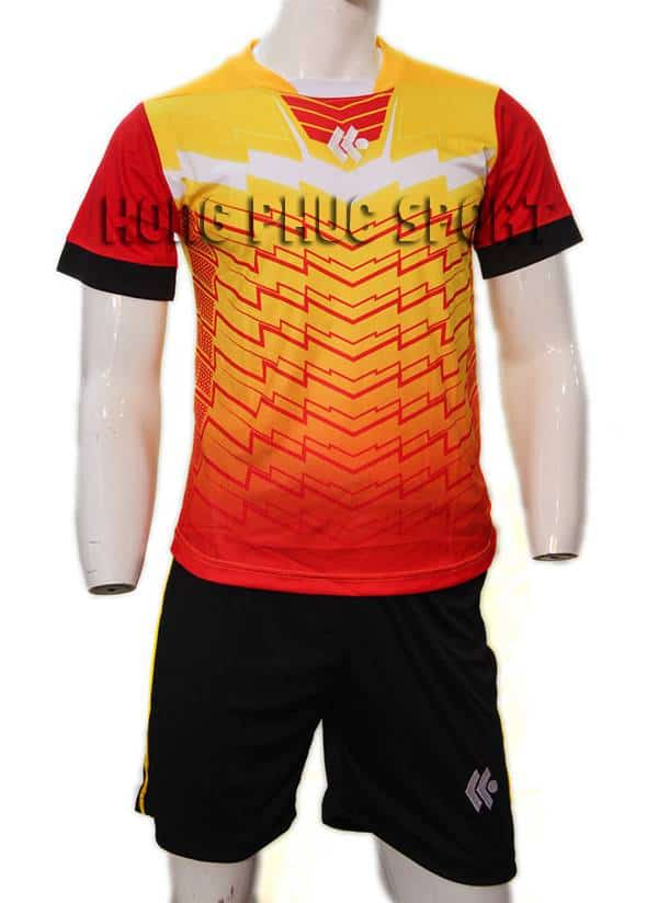 Đồ đá banh áo Kool màu cam không logo 2015-2016