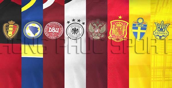 Mẫu áo đấu world cup 2018 đội tuyển quốc gia