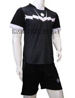 Bộ quần áo Kool đen phối trắng không logo 2015-2016