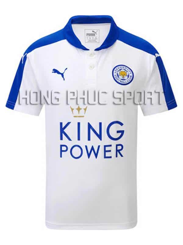 Mẫu áo Leicester City 2015-2016 sân khách mẫu thứ 3 màu trắng