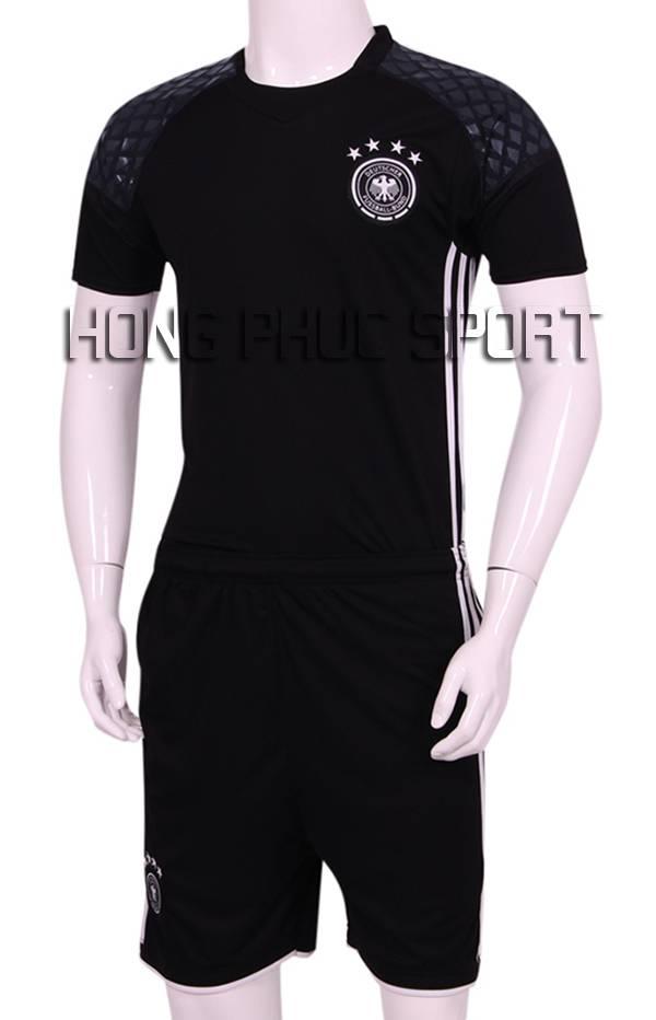 Mẫu áo đá banh thủ môn Đức Euro 2016 màu đen