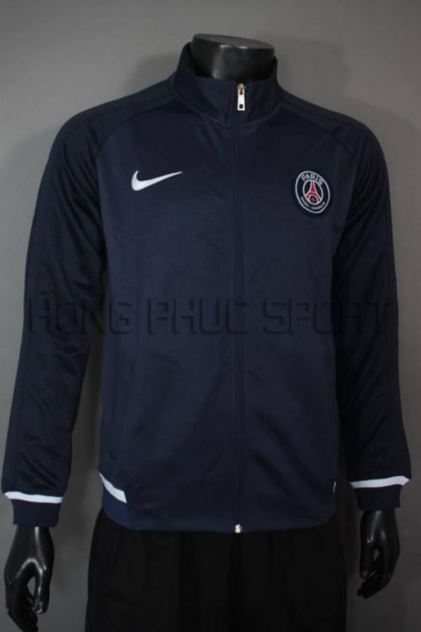 Mẫu áo khoác PSG 2015-2016 sân nhà tím than