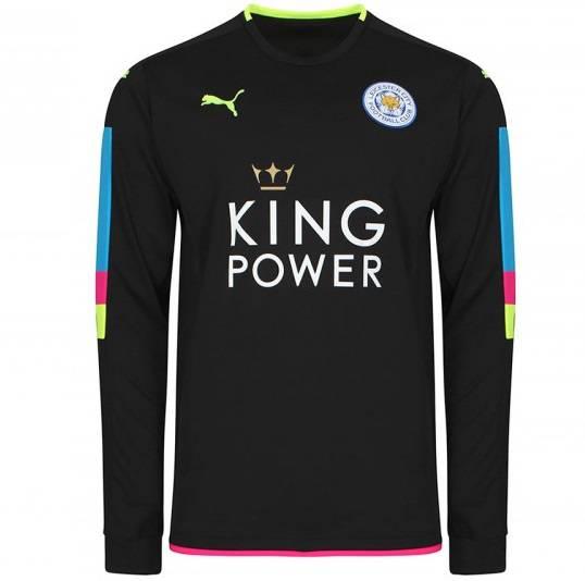 Áo thủ môn Leicester City 2016 2017 màu đen