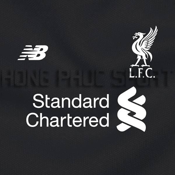 Mẫu áo đấu Liverpool 2016 2017 sân khách màu đen