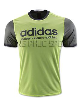 Mẫu áo đá banh Traiing Đức Euro 2016 xanh lá cây