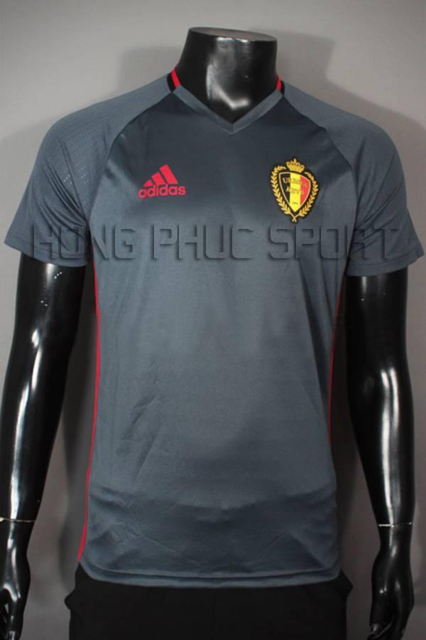 Đồ đá banh Training tuyển Bỉ Euro 2016 màu xám