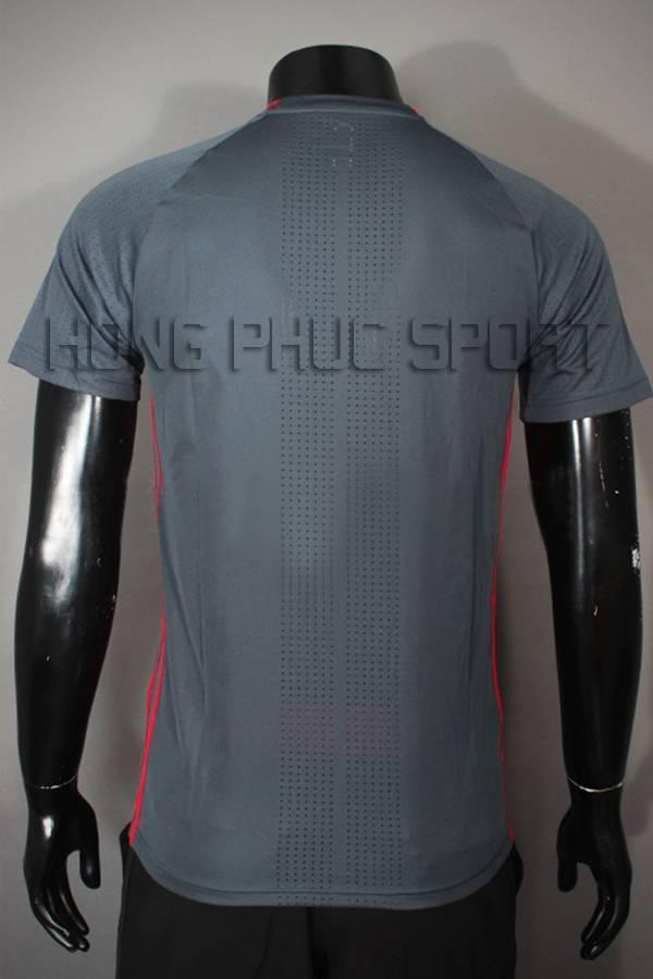 Mặt sau áo Training tuyển Bỉ Euro 2016 màu xám