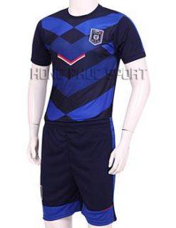 Đồ đá banh Training tuyển Ý Euro 2016 xanh đen