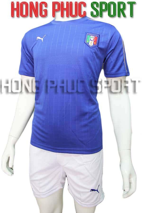 Bộ quần áo tuyển Ý Euro 2016 sân nhà màu xanh