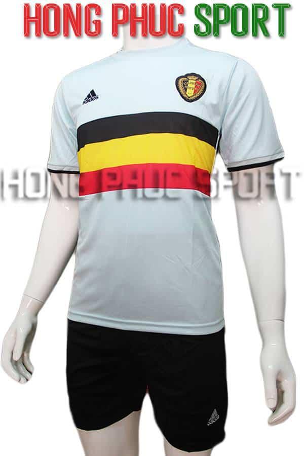 Bộ quần áo tuyển Bỉ thi đấu Euro 2016 màu xanh ngọc