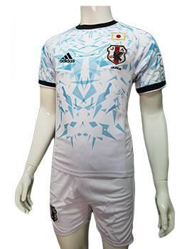 Mẫu áo tuyển Nhật 2016 2017 sân khách màu trắng