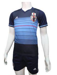 Mẫu áo tuyển Nhật 2016 2017 sân nhà màu xanh