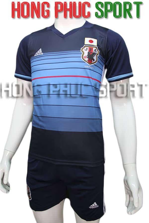 Bộ quần áo tuyển Nhật 2016 2017 sân nhà màu xanh