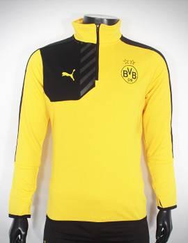 Mẫu áo khoác Dortmund 2015-2016 vàng phối đen super fake Thái Lan