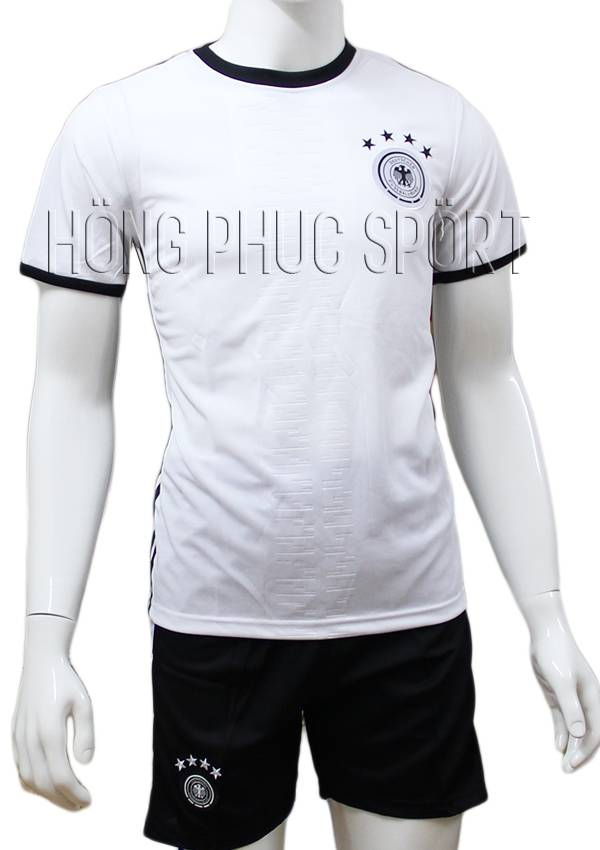 Bộ quần áo tuyển Đức Euro 2016 sân nhà màu trắng