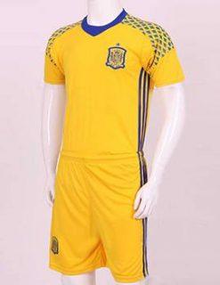 Bộ quần áo bóng đá thủ môn tuyển Đức Euro 2016 màu vàng