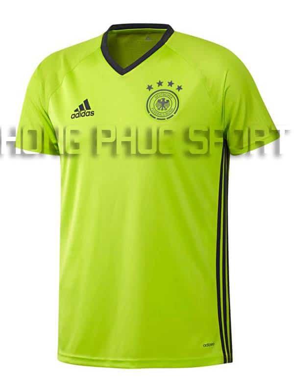 Đồ đá banh training Đức Euro 2016 xanh chuối