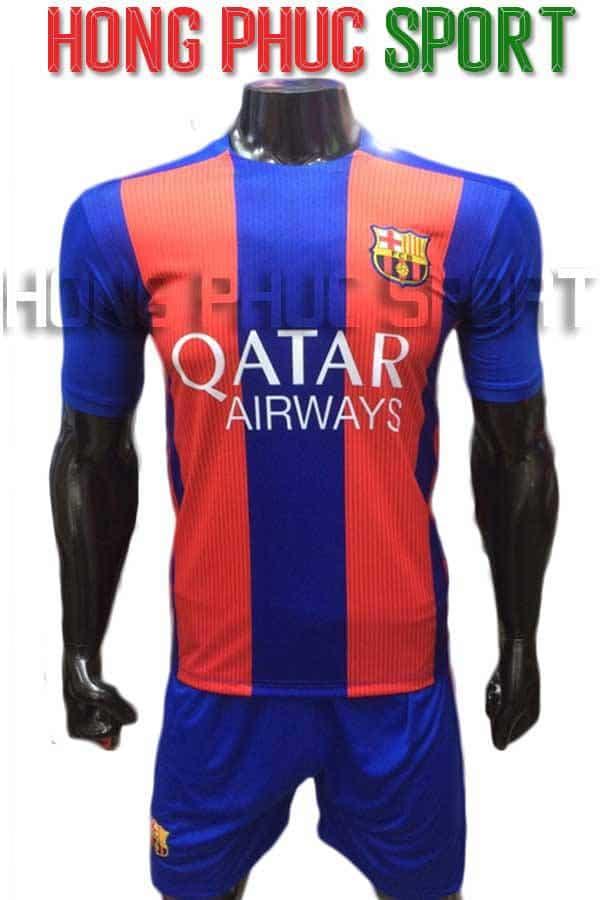 Bộ quần áo Barcelona 2016 2017 sân nhà