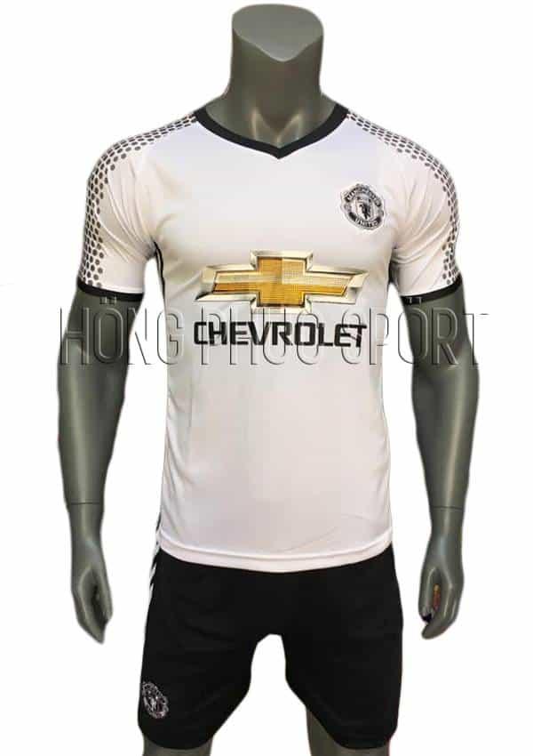 Bộ quần áo Manchester United 2016 2017 sân khách mầu trắng