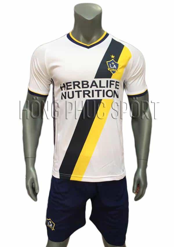 Bộ quần áo La Galaxy 2016 2017 sân nhà màu trắng