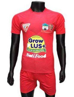 Mẫu áo Hoàng Anh Gia Lai 2016 2017 sân nhà màu đỏ