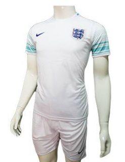 Mẫu áo training tuyển Anh Euro 2016 2017 trắng xanh