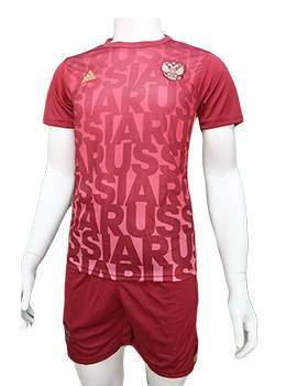 Mẫu áo training tuyển Nga Euro 2016 2017 bã trầu