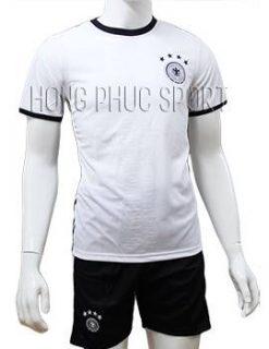 Mẫu quần áo tuyển Đức Euro 2016 sân nhà màu trắng